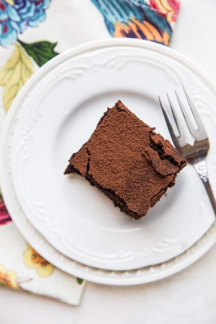 Sourdough Chocolate Cake made gluten-free, refined sugar-free and dairy-free