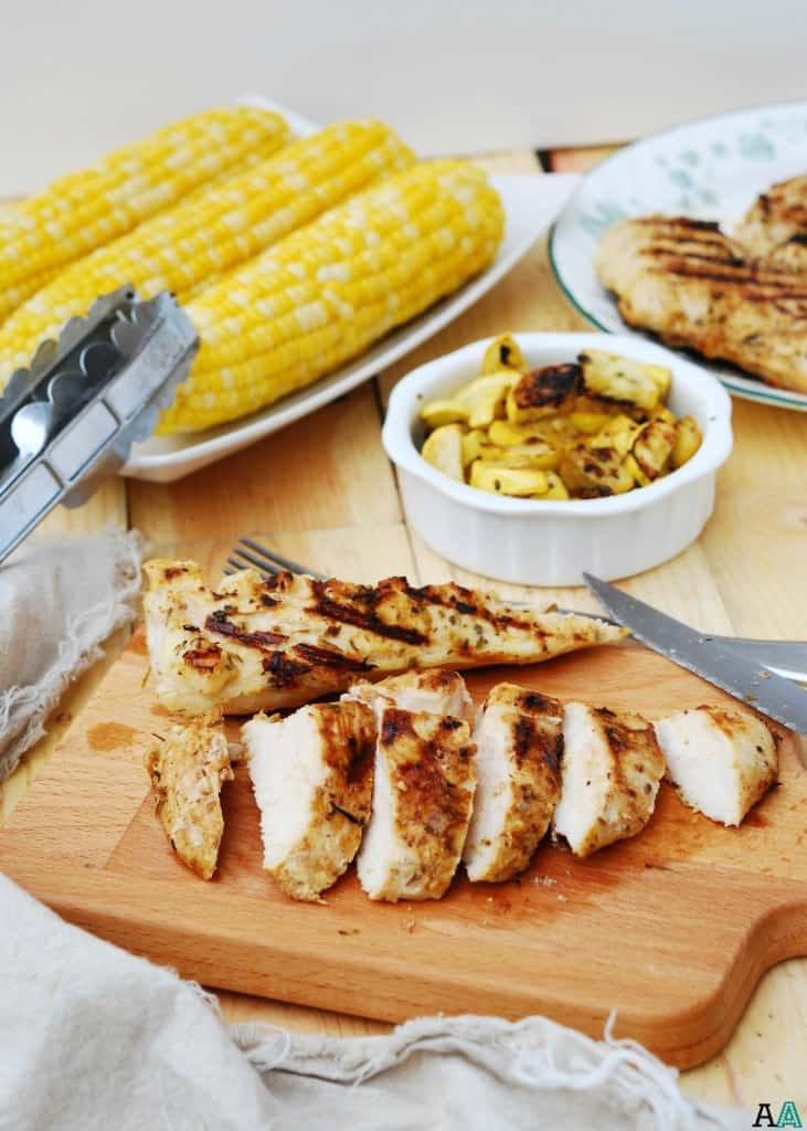 Grilled Lemon Chicken - free of the top 8 allergens