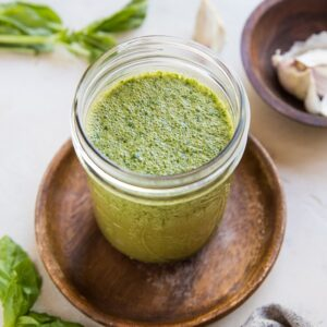 Basil Marinade for Chicken, Beef, Seafood and Pork - only a few ingredients for a fresh, amazing marinade - use it for grilling, roasting or smoking animal protein