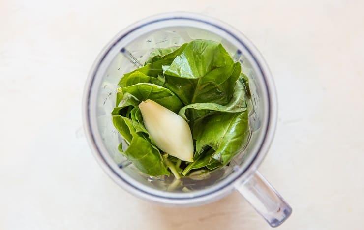 How to make basil marinade using fresh basil