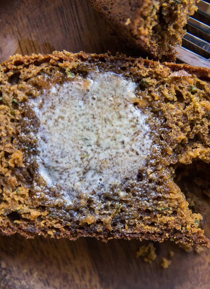 The BEST Gluten-Free and Dairy-Free Zucchini Bread Recipe - refined sugar-free and healthy