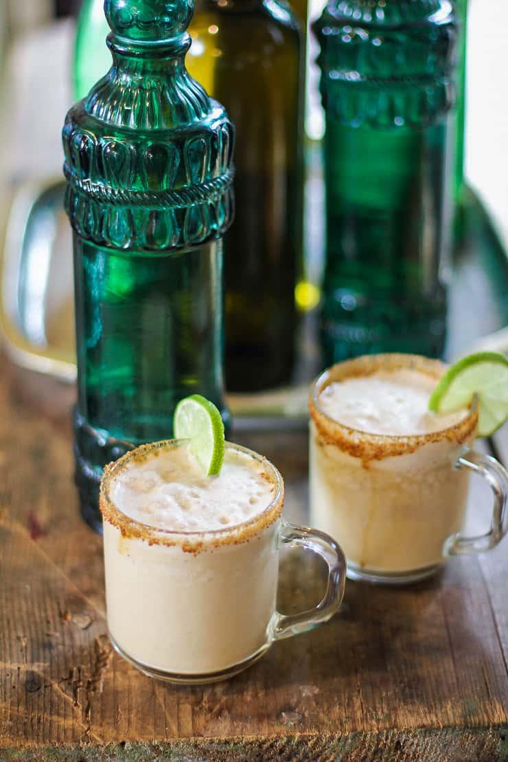 Creamy Probiotic Lemonade Mocktail