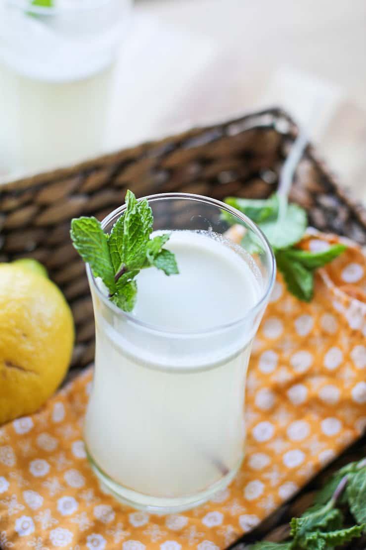 Mint Lacto Fermented Lemonade