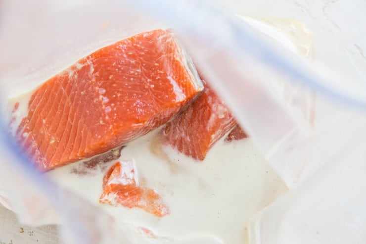 How to Marinate Salmon