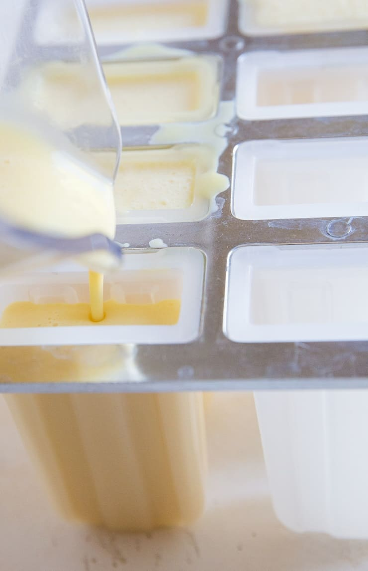 How to make creamy orange popsicles
