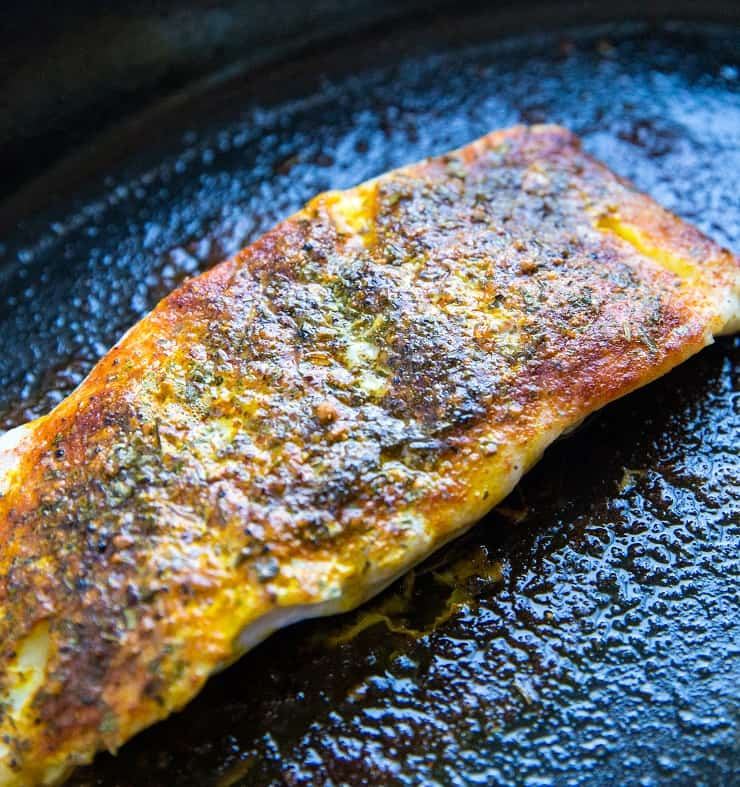 Baked Cod Recipe - low fat, high protein, The Rock's meal of choice