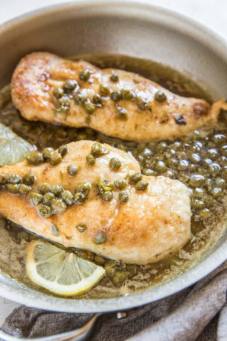 Gluten-Free Chicken Piccata Recipe