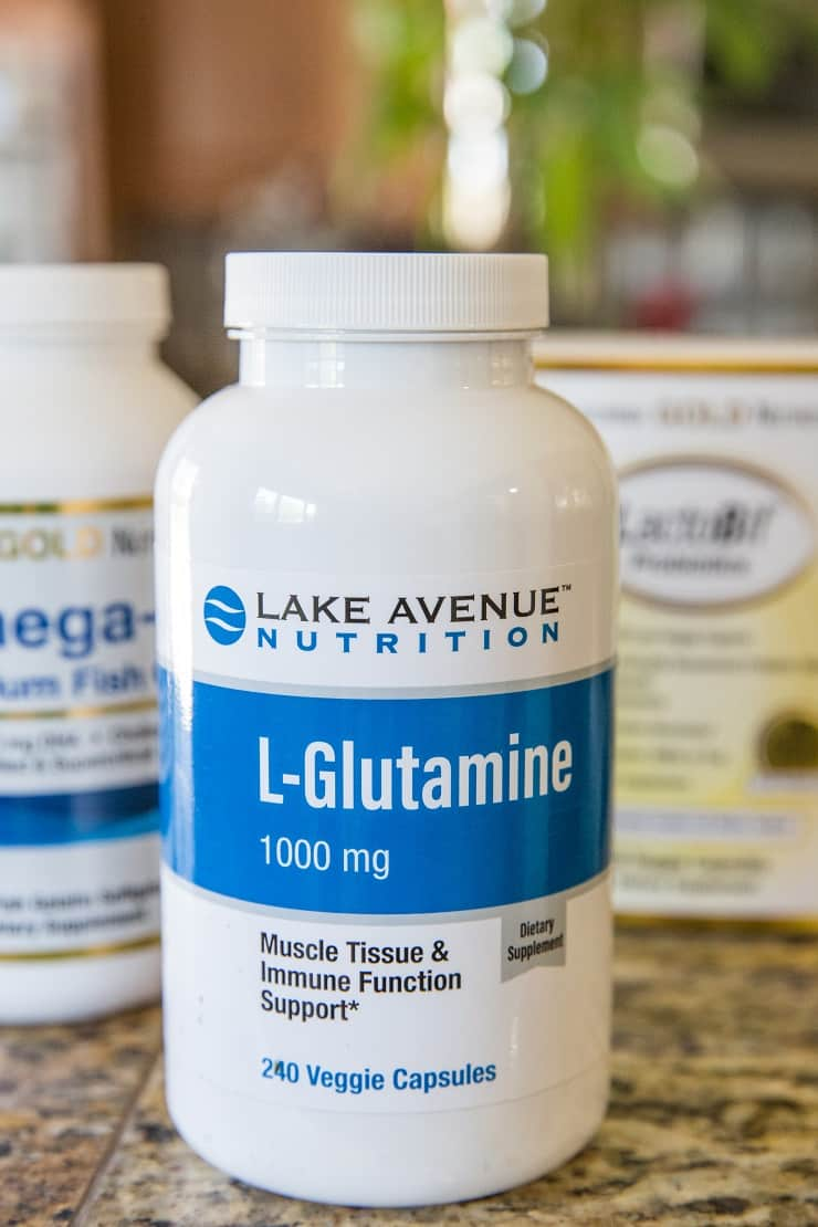 L-Glutamine + more supplements for IBS and gut health