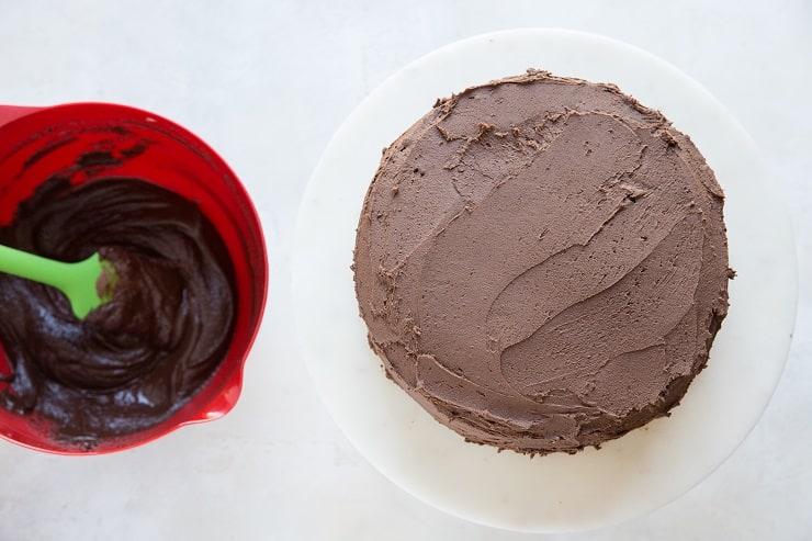 How to make gluten-free chocolate cake