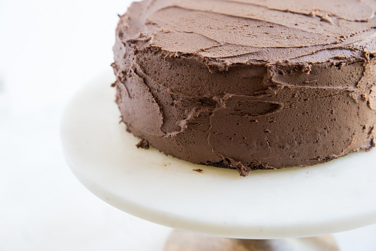 the best gluten-free chocolate cake recipe with chocolate buttercream