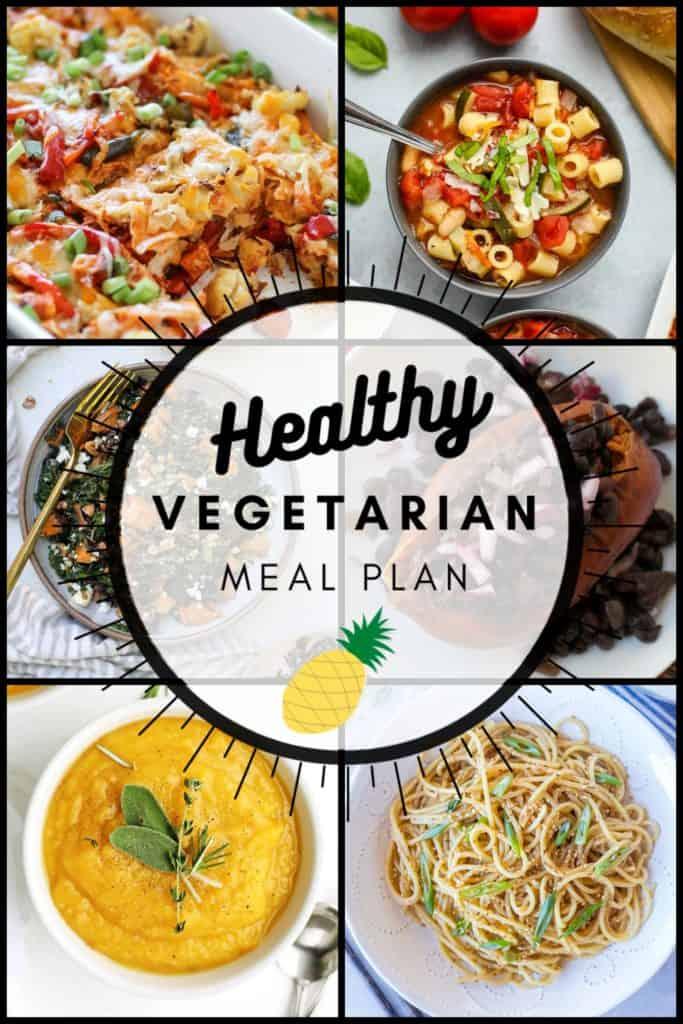 Vegetarian Meal Plan 10-25