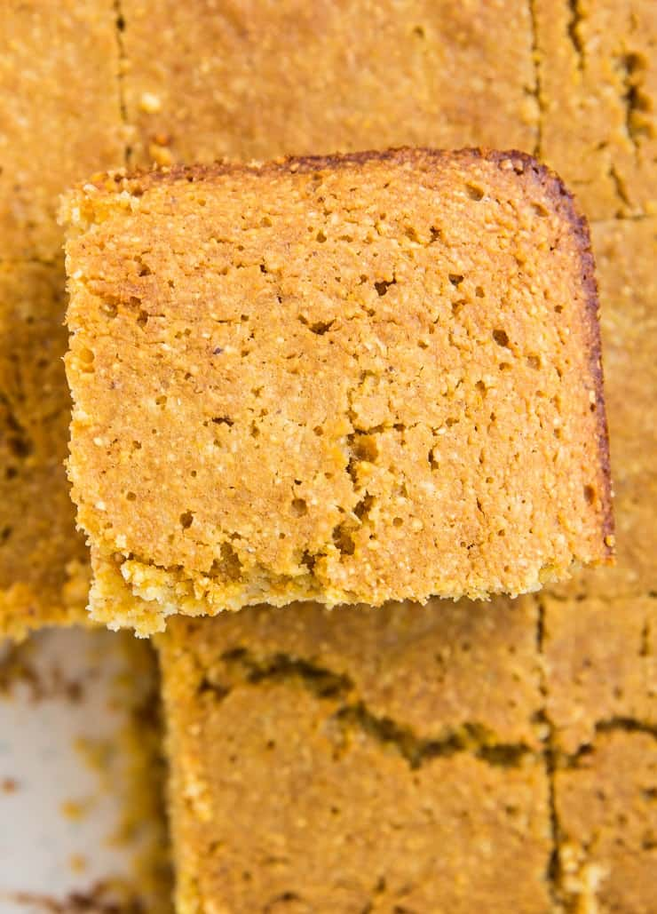 Dairy-Free Gluten-Free Cornbread Recipe that'll knock your socks off! It's easy to prepare, moist, fluffy, and delicious!