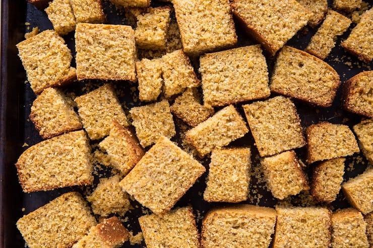 How to make gluten-free cornbread stuffing