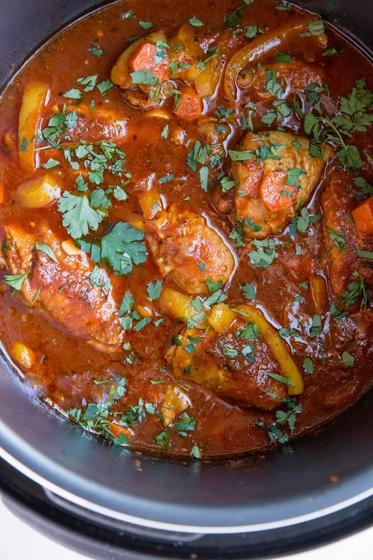 Quick and Easy Pressure Cooker Chicken Cacciatore. Make the Italian classic chicken cacciatore in an Instant Pot for a flavorful, healthy dinner