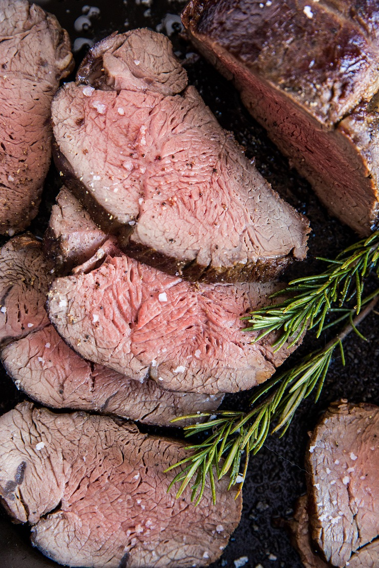 Beef Tenderloin Recipe - an easy tutorial on how to cook beef tenderloin, complete with all the tips for the perfect roast