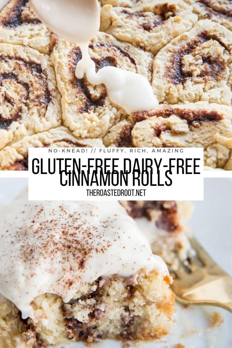 Dairy-Free Gluten-Free Cinnamon Rolls Recipe - fluffy, rich, amazing!