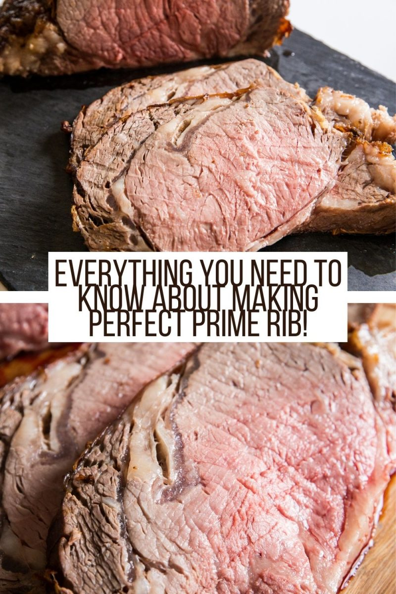 How to Make Perfect Prime Rib! Everything you need to know about roasting prime rib in the oven