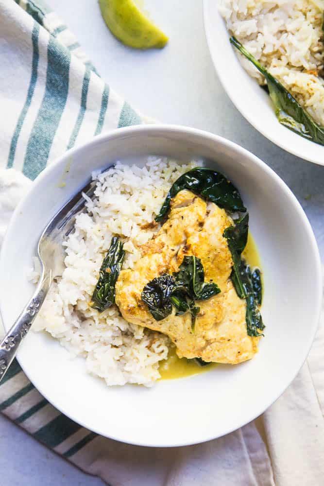 Quick Thai Fish Curry