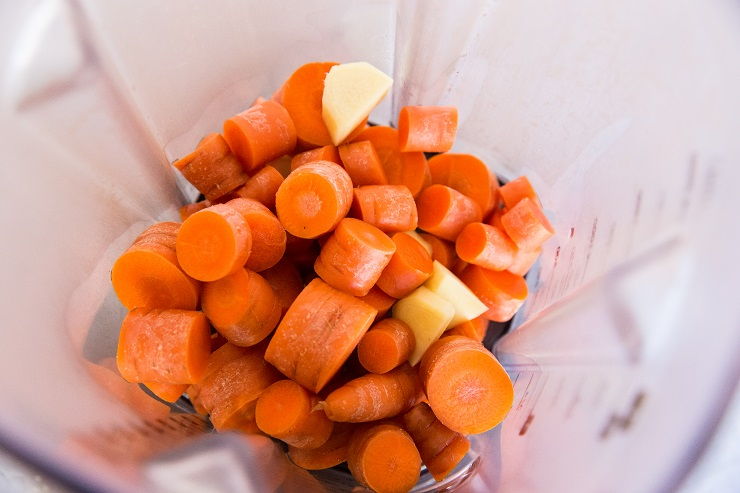How to make carrot ginger smoothie