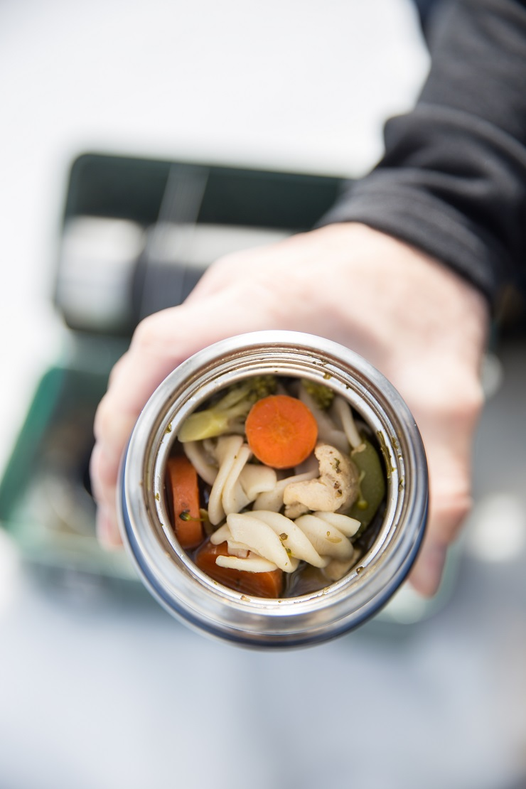 Gluten-Free Chicken Noodle Soup Recipe - a quick stove top soup recipe that takes about 45 minutes to make