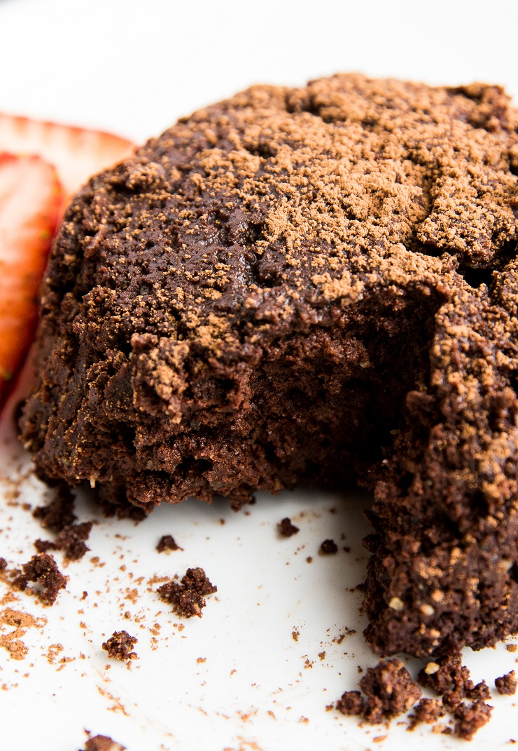 Keto Mug Brownies for Two! - low-carb, sugar-free small batch brownie recipe designed for two or three people. Healthy, rich, fudgy, amazing!