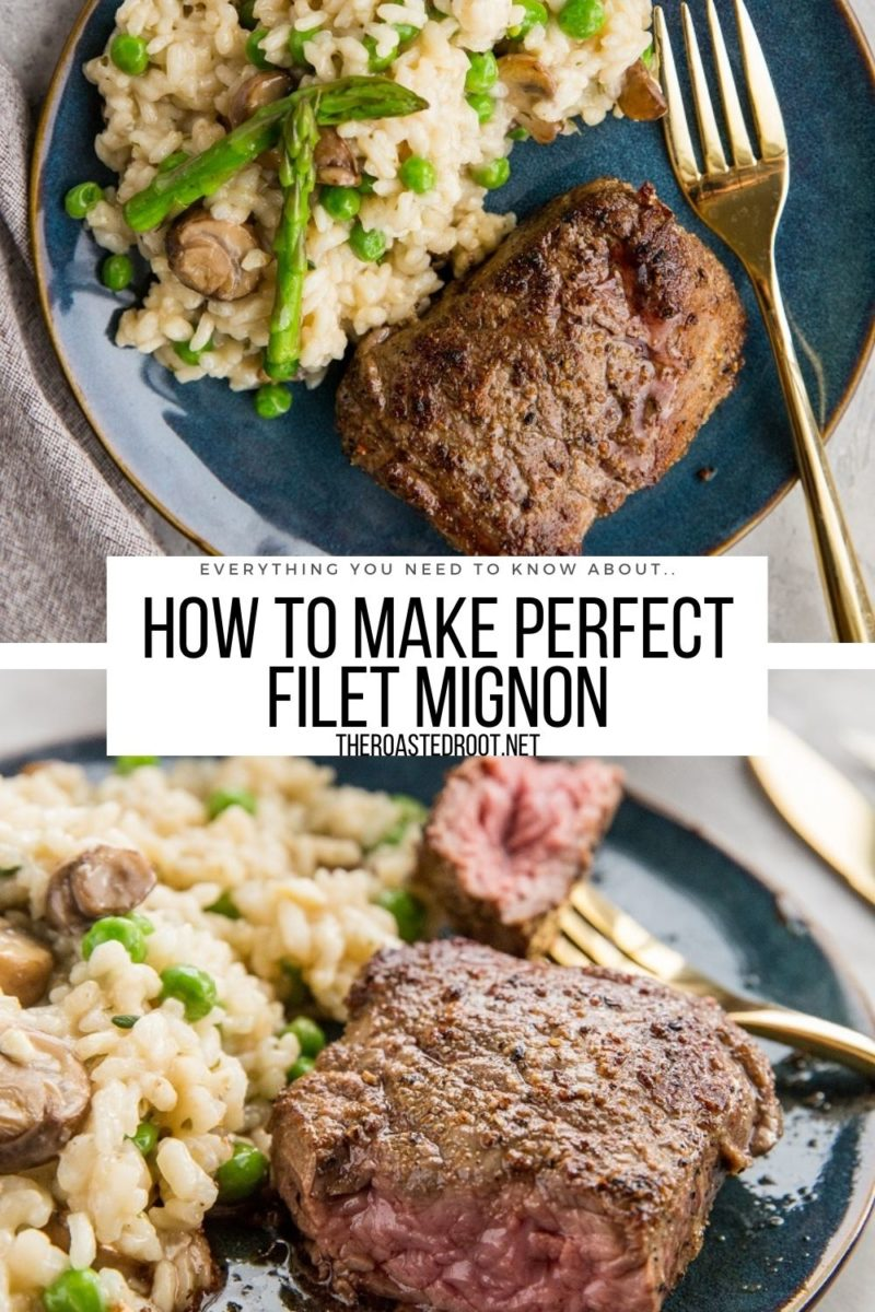 Easy Filet Mignon Recipe - everything you need to know about making perfect filet mignon