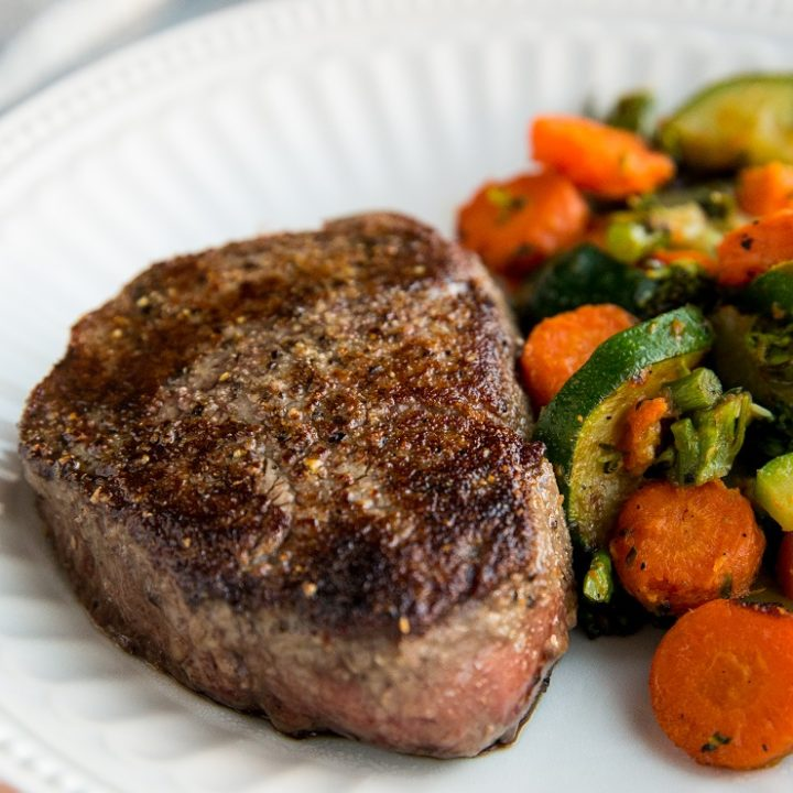 Easy Filet Mignon Recipe with everything you need to know about cooking the perfect steak