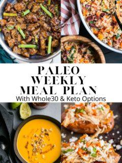 Paleo Weekly Meal Plan - Week 6