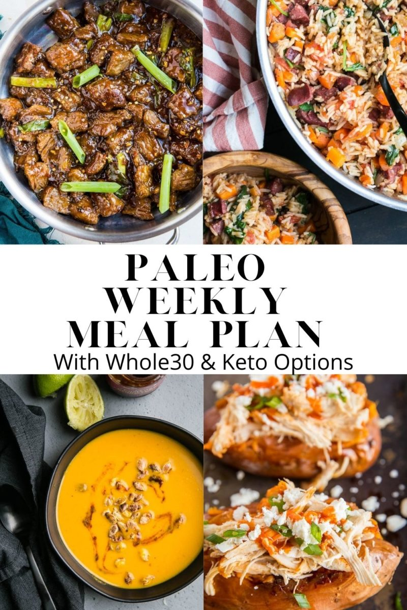 Paleo Weekly Meal Plan - Week 6