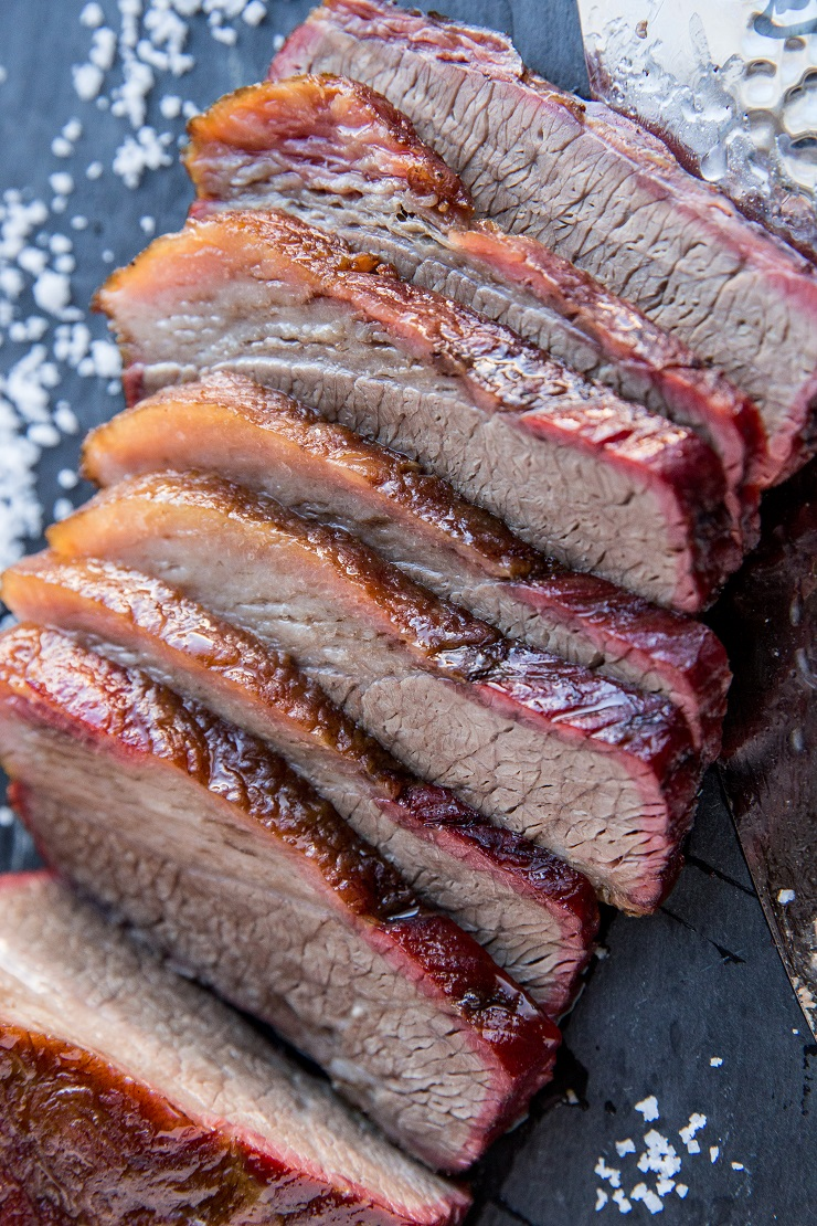 The BEST Smoked Brisket - an easy recipe for smoked brisket for the most amazingly tender and flavorful result
