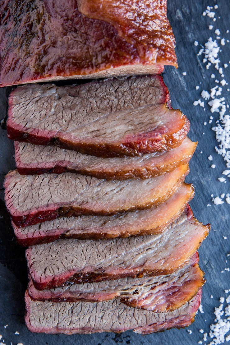 How to Make Smoked Brisket - an easy method for making smoked brisket that results in the most amazingly tender meat