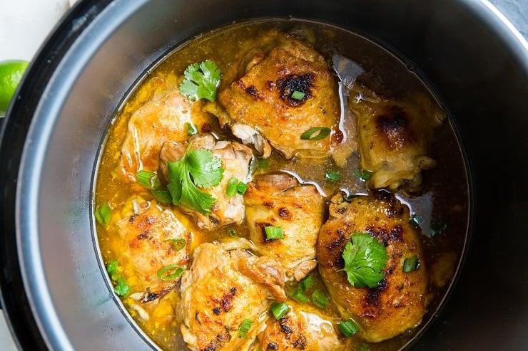 Instant Pot Jamaican Jerk Chicken Recipe - an easy, tender, delicious recipe for jerk chicken that will drive your taste buds wild!