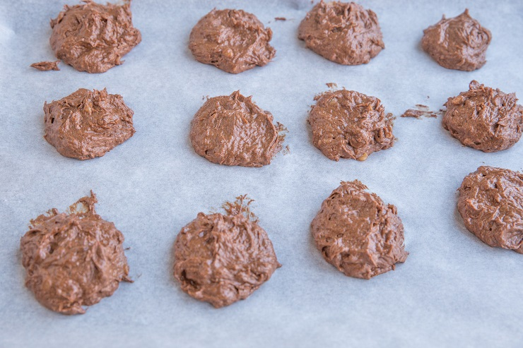 Vegan Chocolate Cookies made with 3 ingredients