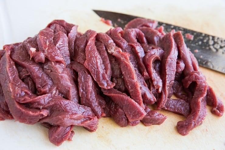 How to cut steak for fajitas