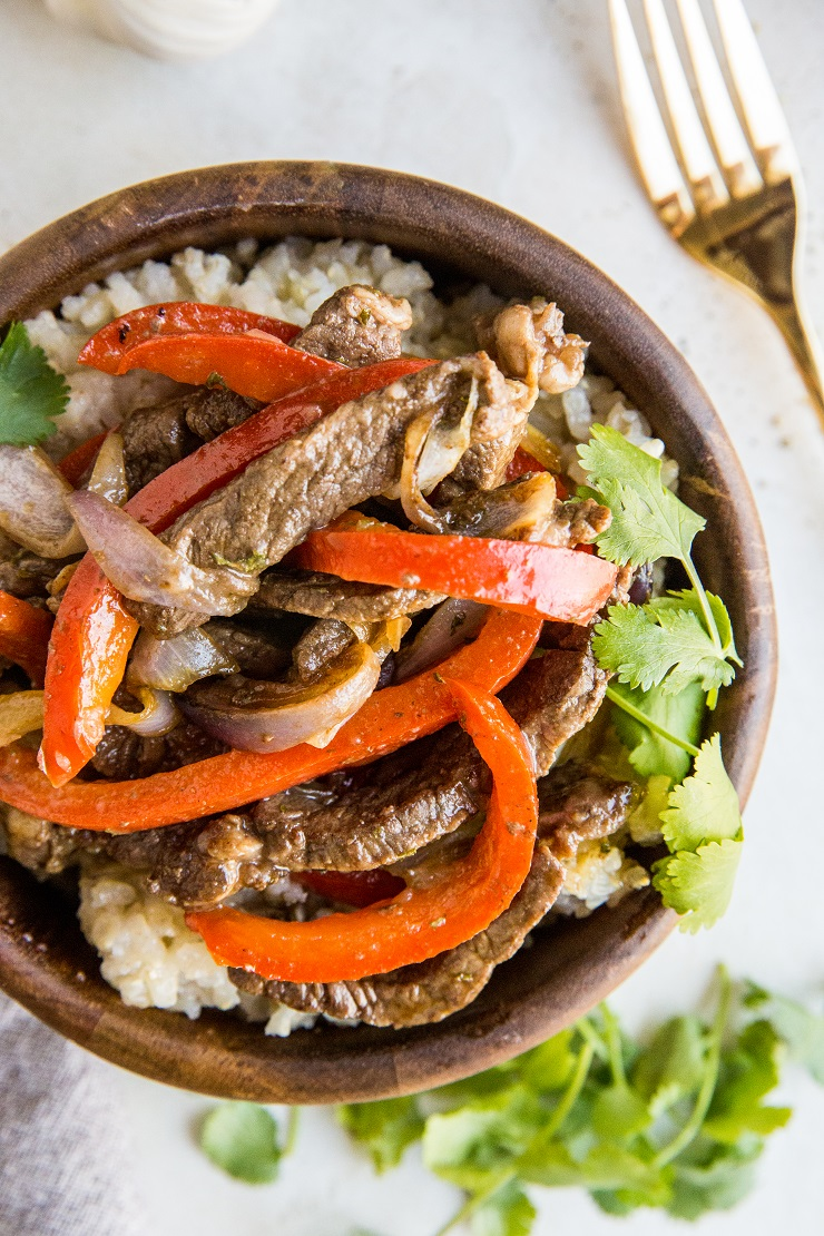 20-Minute Teriyaki Steak - a quick and easy recipe for teriyaki steak that is soy-free, refined sugar-free, and paleo-friendly