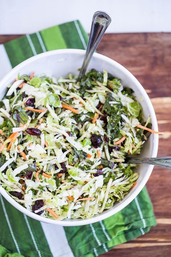 Sweet Kale Salad - a Costco Copycat recipe that is paleo-friendly