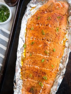 Easy Smoked Salmon Recipe - How to smoke salmon without brining or curing ahead of time. This simple recipe is ready in under an hour!