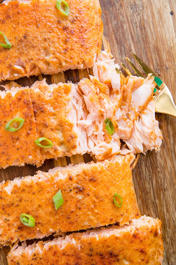 Smoked Salmon Recipe made easy! A simple salmon recipe ready in 1 hour that has marvelous texture and perfect smoky flavor.