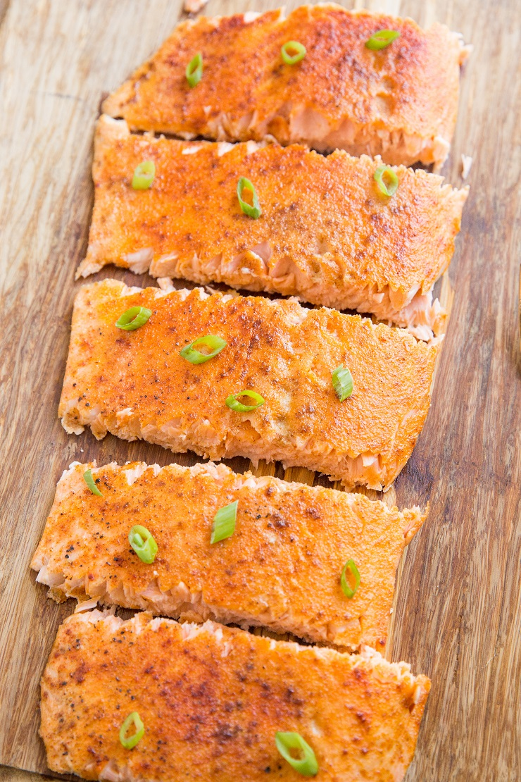 Quick and easy smoked salmon that requires no brining or curing.