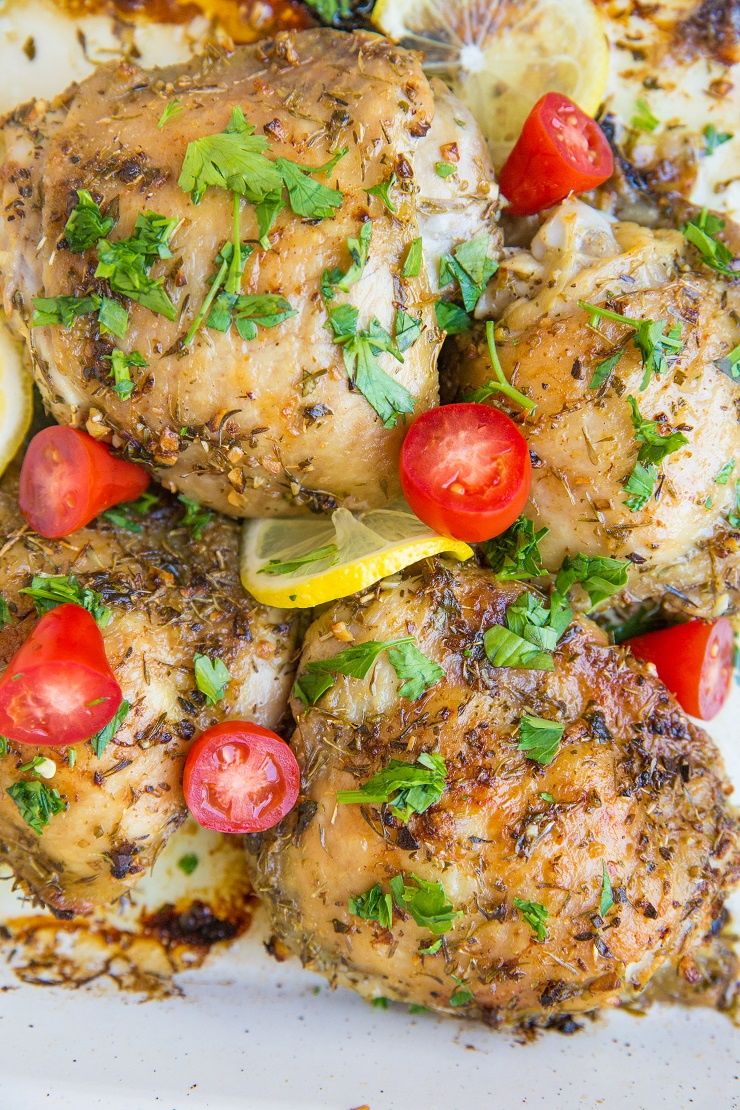 Easy Greek Chicken Recipe - perfect for meal prep and weeknight meals