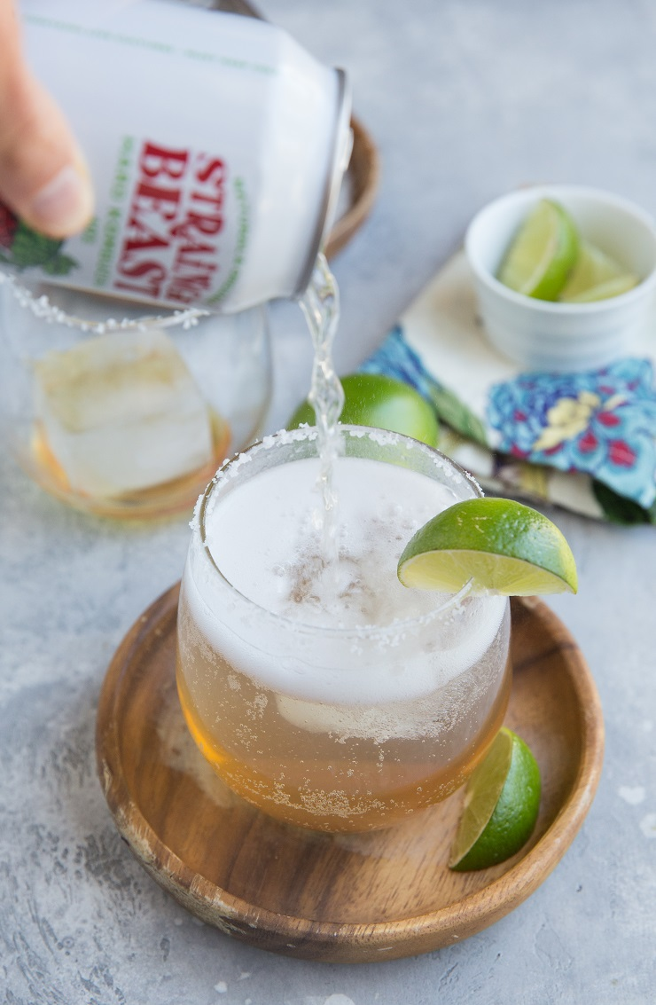 How to make cocktails with kombucha