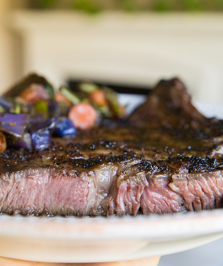 How to make perfect grilled medium-rare steak