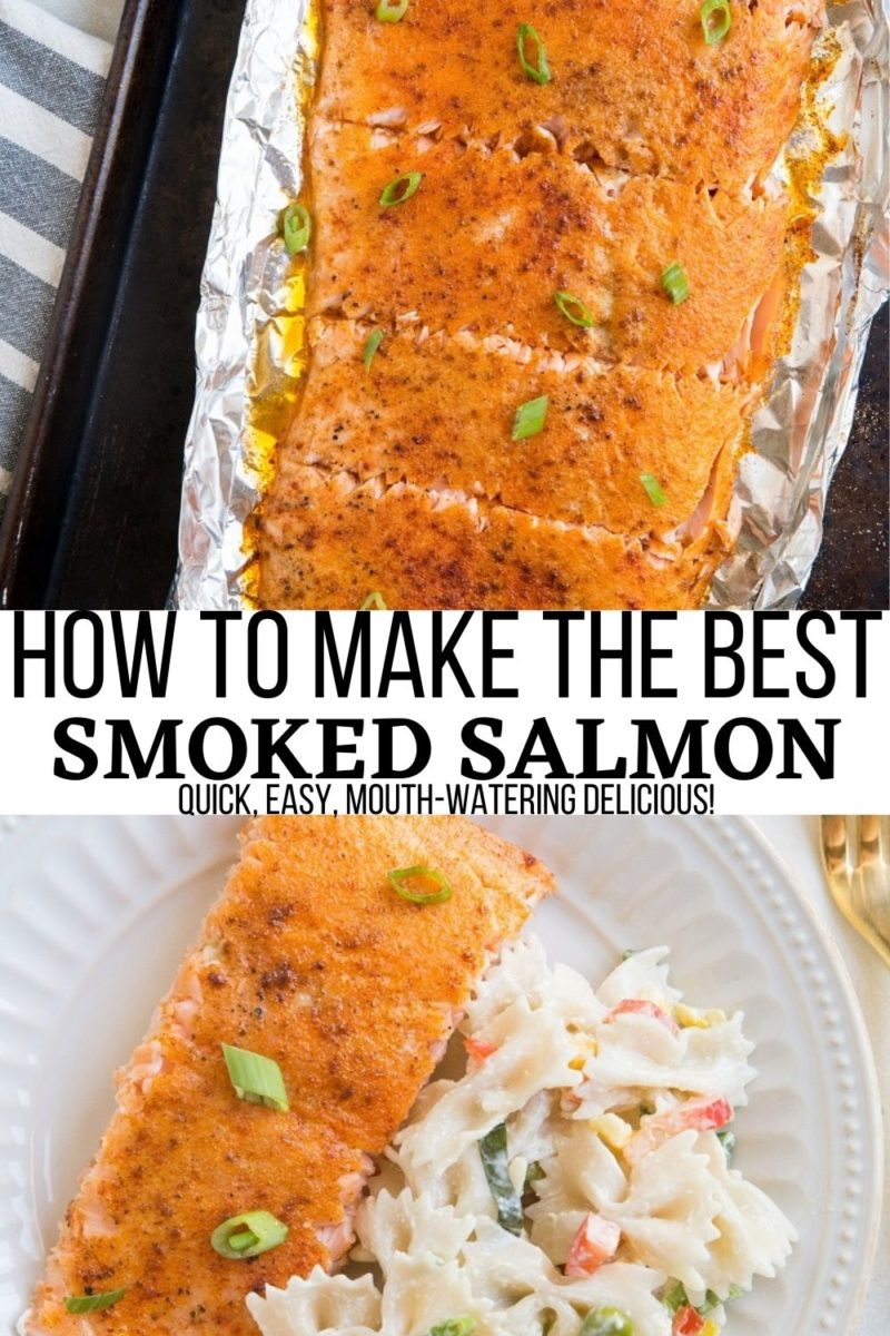 How to Make Smoked Salmon - this quick and easy smoked salmon recipe is so simple and delicious with just the right amount of smoke!