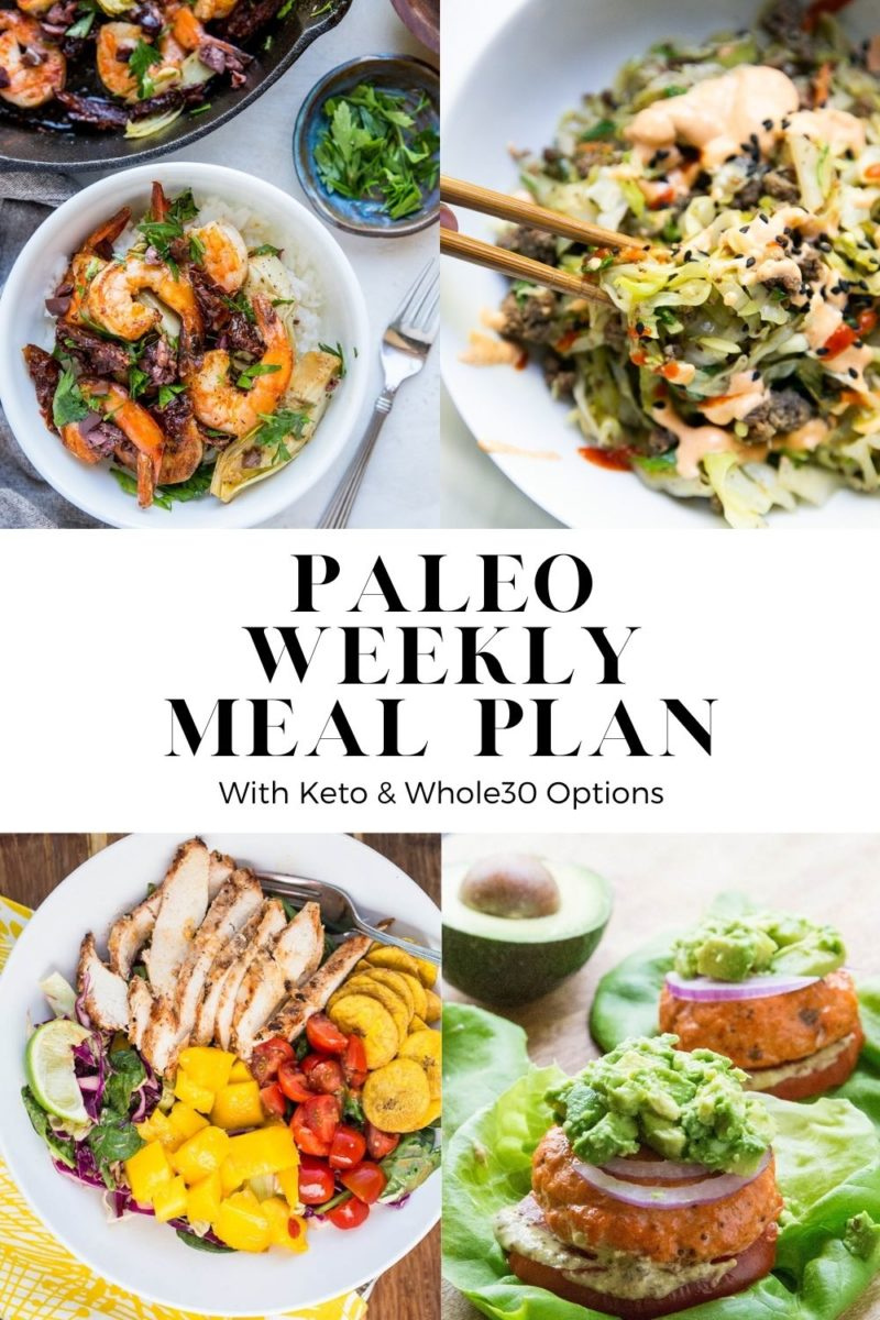 Paleo Meal Plan - Week 15 - a whole food centric meal plan with a grocery list designed to keep your workweek easy and nourishing.