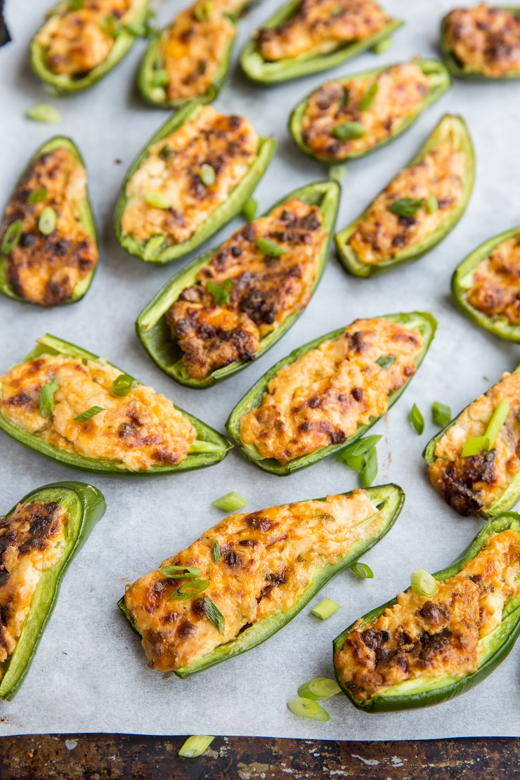 Baked Jalapeno Poppers are an amazing low-carb appetizer perfect for sharing for any occasion.