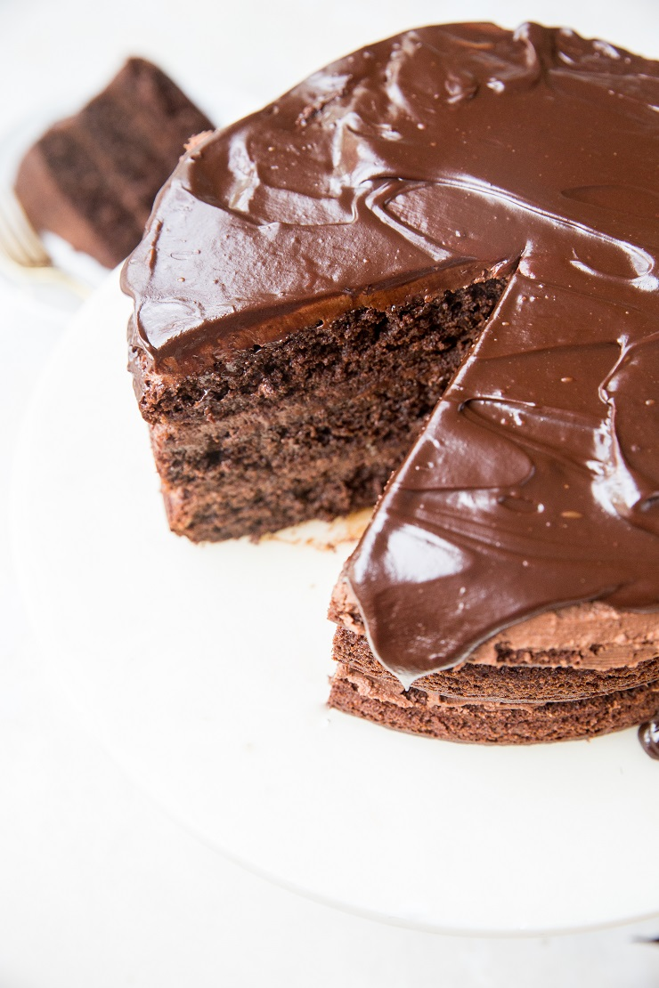 Dairy-Free Chocolate Ganache Recipe with a Keto option. Vegan, sugar-free, easy to make with 2 basic ingredients