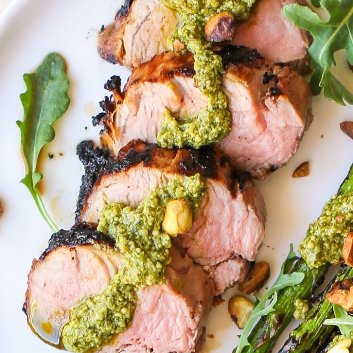 Perfect Grilled Pork Tenderloin - crispy on the outside, tender on the inside perfectly cooked pork tenderloin is mouth-wateringly delicious and easy to make!