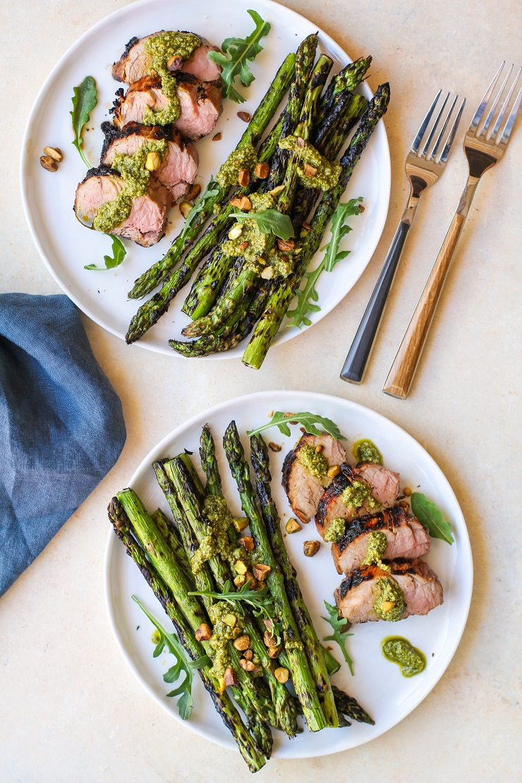 Easy Grilled Pork Tenderloin that turns out perfectly tender and delicious every time! You'll absolutely love the pork marinade in this recipe!