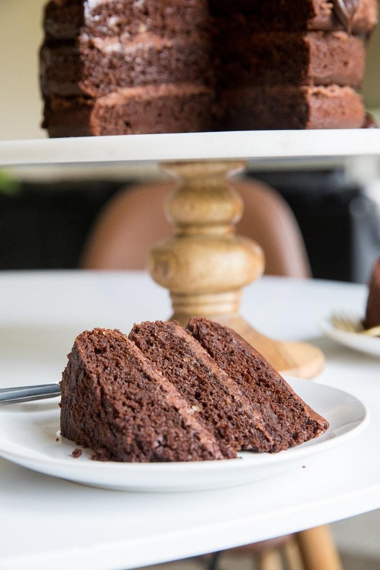 Easy Chocolate Buttercream Recipe - keto, paleo, and vegan options. Rich, creamy, amazing!