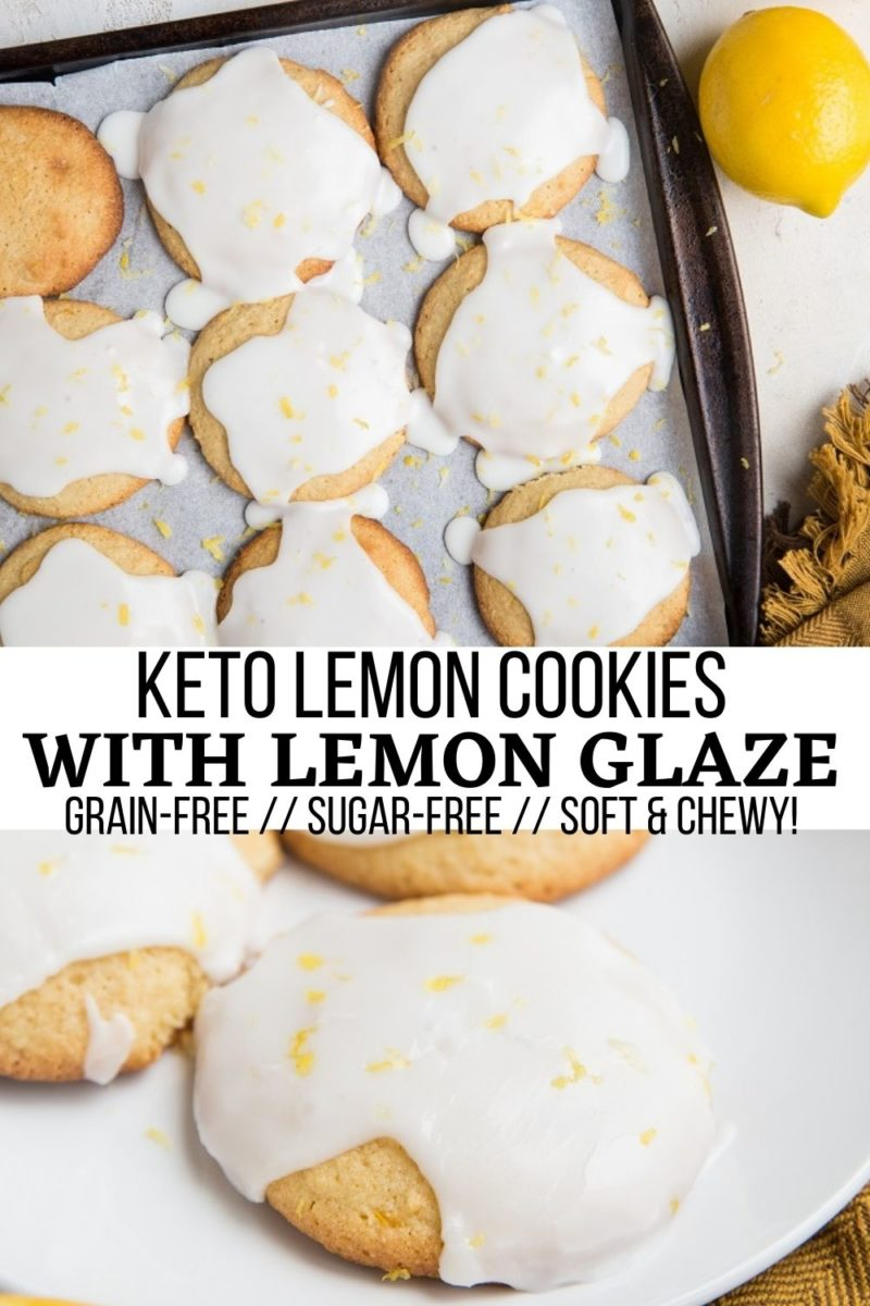 Keto Lemon Cookies with an irresistible glaze are not only a pure delight to consume, they're incredibly easy to make! Grain-free, soft and chewy, these cookies taste nice and refreshing while satisfying that sweet tooth.